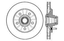 Ford Expedition 1997-2000 Brake Rotor Standard Brake Rotors 121.65063