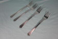 Monarch Silver Matte Dinner Forks Set of 4 Stainless Steel Flatware Korea New