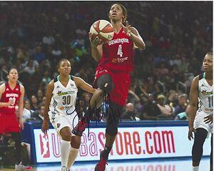 TAYLER HILL Signed 8 x 10 Photo WNBA Basketball WASHINGTON MYSTICS Free Ship