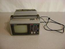 "Emerson Portable Vhf Uhf Television Am Fm Radio 5.5"" Model Pc5A"