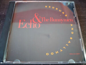 ECHO AND THE BUNNYMEN - Bedbugs And Ballyhoo CD Promo Single