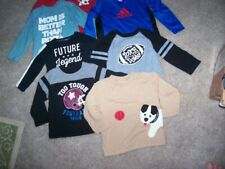 Lot of Seven Boys Long Sleeved Shirts Size 24 Months