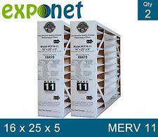 "Lennox Healthy Climate 16x25 X6670 MERV 11 Actual Size 15 3/4"" x 24 3/4"" x 4 3/8"