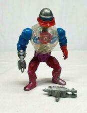 Vintage Mattel 1985 MOTU He Man ROBOTO Action Figure COMPLETE w ALL 3 Attachment