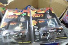 2 Johnny Lightning Racing Dreams KISS Gene Simmons RR's 1:64 Diecast  2 models