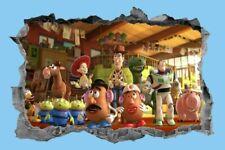 Toy Story,Sticker,Decal,Kids,3D,Bedroom,Wall Art,Mural