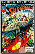 Superman #76 DC Comics Feb 1993 Funeral for a Friend/4 VF-NM