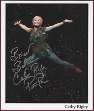 Cathy Rigby, Olympic Gymnast, Actress, Peter Pan, Signed Photo, COA, UACC RD 036