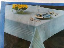 "Ivory Tablecloth Permant Press 60"" x 86"" Oblong BelleAir Capri New"