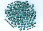 Real 100% Natural Loose 100 Round Diamonds Clarity-I13 Blue Color N537