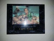William Shatner Classic Star Trek Tv Series Captain Kirk Autographed Picture