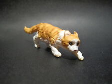 Dollhouse Miniature Fairy Garden Cat / Kitten 3 - American Curl Yellow 7.5cm