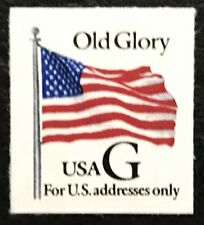 "1994 Scott #2886, 32¢, ""G"" AND OLD GLORY FLAG - Booklet Single - Mint NH -"