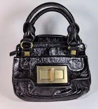 Dune Black Pu Leather Compact Handbag 24cm X 20cm