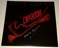 DAVID LYNCH Signed TWIN PEAKS Double Colored Vinyl SOUNDTRACK LP JSA COA PROOF