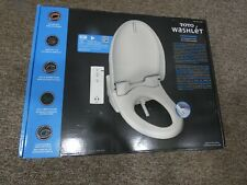 TOTO T1SW2024 White Automated Washlet Bidet Toilet Seat Elongated