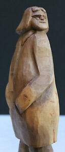 WOOD SCULPTURE BY REVEREND HAYES