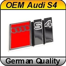 OEM Audi A4 S4 B5 (1995 - 2001) Chrome Badge Emblem Rear S Line