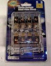 NEW BDR  CAR STEREO MAXI FUSE POWER DISTRIBUTION BLOCK AUDIO AMP