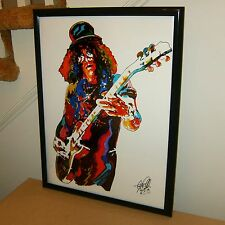 Slash, Guns N' Roses, Guitar Player, Guitarist, Hard Rock, 18x24 POSTER w/COA 2
