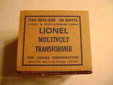 Lionel 1043-500 (50watts) White Girl's Transformer Box