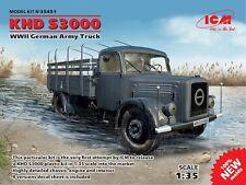 ICM 1/35 KHD S3000, 2ND GUERRE MONDIALE Armée Allemande Camion # 35451