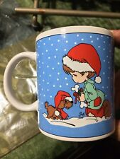 Precious Moments Coffee Mug Cup Christmas Wishing You Season Filled Joy Holiday