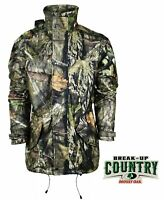 Adult Stromkloth Mens New Mossy Oak Breakup Country Camo Jacket Hunting Shooting