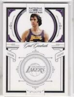 2010 Gail Goodrich #/99 Panini National Treasures Los Angeles Lakers