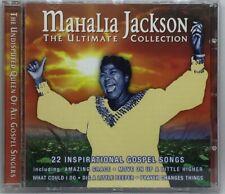 MAHALIA JACKSON - ULTIMATE COLLECTION - CD 22 SONGS Like New Black Gospel (11)