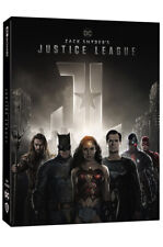 Presale) Zack Snyder's Justice League 4K UHD + BLU-RAY Steelbook Limited Edition