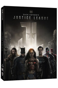 Zack Snyder's Justice League 4K UHD + BLU-RAY Steelbook Limited Edition