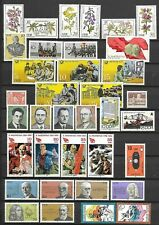 East-Germany/GDR/DDR: All stamps of 1981 in a year set complete, MNH