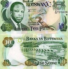 BOTSWANA Africa 10 Pula UNC 2007 p-24b