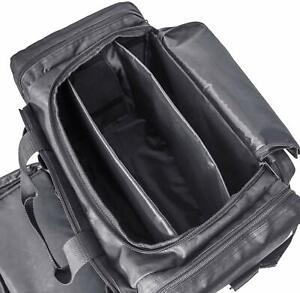 Tactical Deluxe Range Duffle Bag Oxford Pistol Gun Ammo Hunting Tote Bag Black