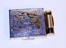 Vintage Florida Souvenir Compact, Pill Box, Florida Souvenir Trinket Box