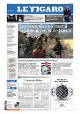 Le Figaro 28.10.2016 N°22462*Primaires SARKO/Juppé*CETA*MOSSOUL*MIGRANTS-OCCITAN
