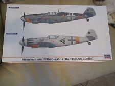 Messerschmitt Bf109G-6/G-14 Hartman Combo 1:72 Hasegawa Model Kit 01901