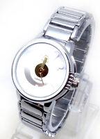 089P Femmes Dernier Mode Poignet Montre Argent Bracelet Blanc Luxe Cadran Quartz
