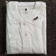 Sel Classic Men's White Polo Shirt Size Large New