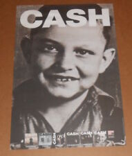 Johny Cash Poster Original 2010 Promo 24x16 (young boy) RARE