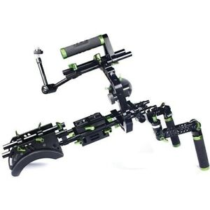 Lanparte SCR-01 DSLR shoulder rig with follow focus and ABS case
