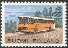 Finland 1971 Mail Bus/Coach/Public Transport/Motoring/Buses/Motors 1v (n29641)