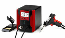 ES1-LEAD FREE DESOLDERING STATION WITH LCD PANEL ZD-8915 RED