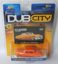 Jada Dub City Oldskool #46 - 1953 CADILLAC SERIES 62 - orange / graph - ca 1:64