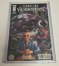 Edge of Venomverse 2 SDCC Stan Lee Collectibles Variant Signed Stan Lee w/COA 1