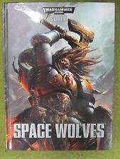 Warhammer 40K Codex Army Book - Space Wolf Wolves 7th Ed Hardback (J1A26)
