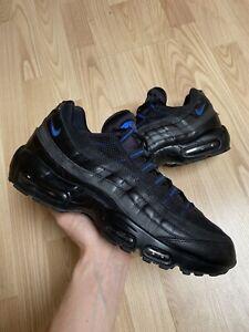 Nike Air Max 95 'Black Hyper Cobalt' Size 10