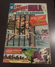 Tales to Astonish #70  1st Solo Sub-mariner Key * FN/VF High Grade * Hulk App