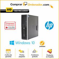 ORDENADOR HP 6300SFF   I7/4 GB/SSD240/W10